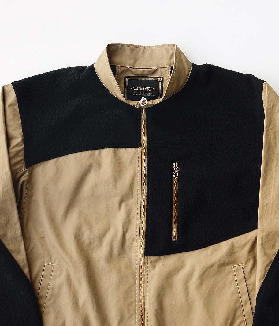 ANACHRONORM Combi Fullzip Jacket