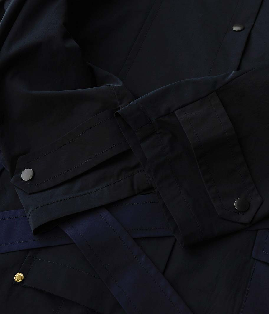 ANACHRONORM Cowboy Trench Coat