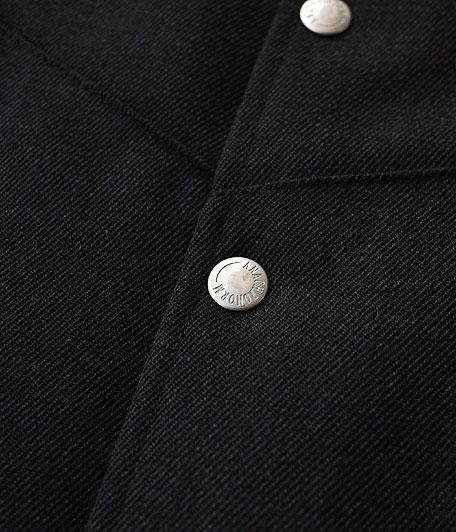 ANACHRONORM Wool Gabardine Mid-Layer Quilt Warm Vest