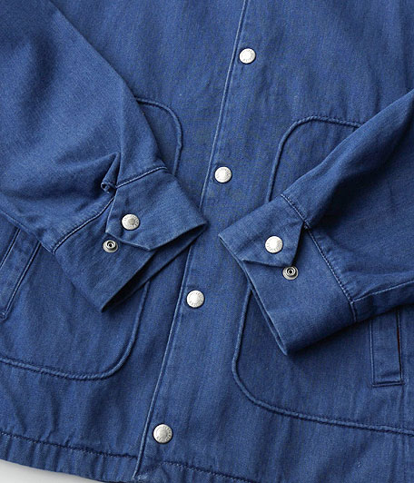 ANACHRONORM Pima Denim Swing Jacket