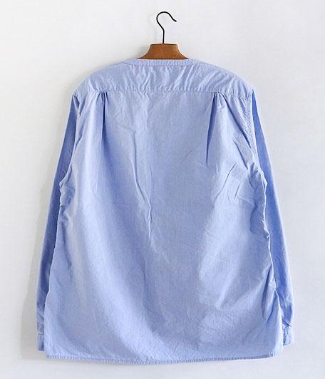 ANACHRONORM Pima Cotton Typewriter Shirt-Cardigan