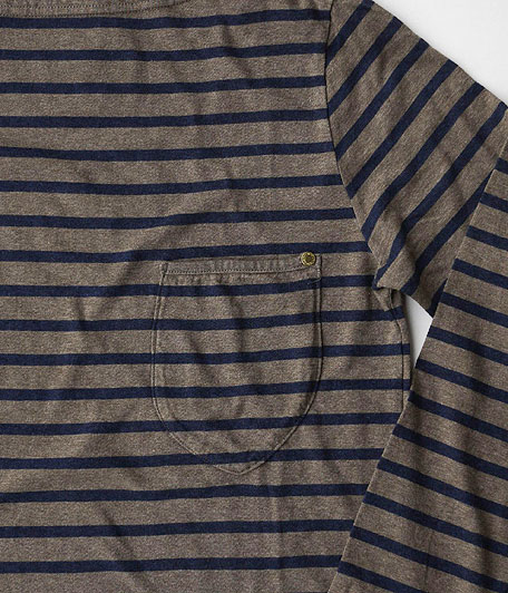 ANACHRONORM Border Top Boatneck L/S Tee