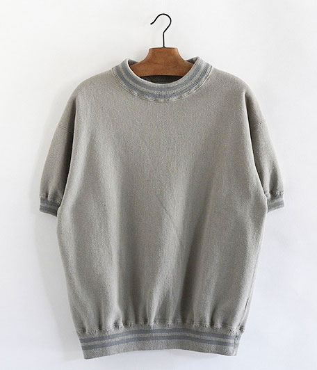 ANACHRONORM Fleece Crew Neck S/S Sweatshirt