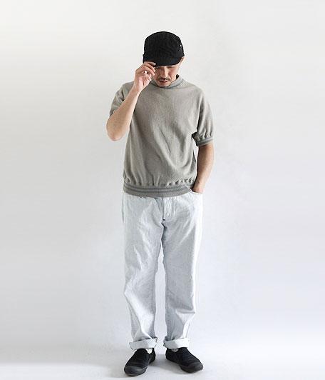 ANACHRONORM Fleece Crew Neck S/S Sweatshirt