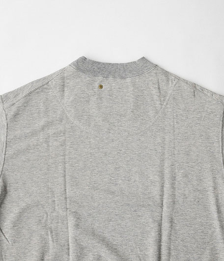 ANACHRONORM Pima Cotton Fleece Crew Neck S/S Sweatshirt