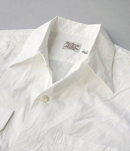 ANACHRONORM Broad Open Collar Shirt