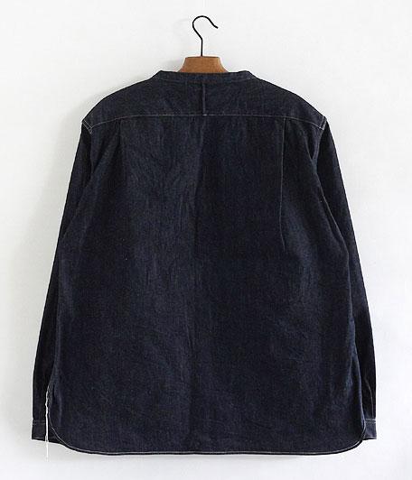 ANACHRONORM Denim Shirt-Cardigan