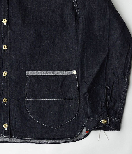 ANACHRONORM Denim Shirt-Cardigan