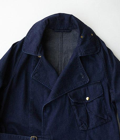 ANACHRONORM DENIM Trench Coat