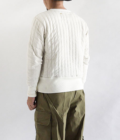 ANACHRONORM Quilted L/S Crew Neck
