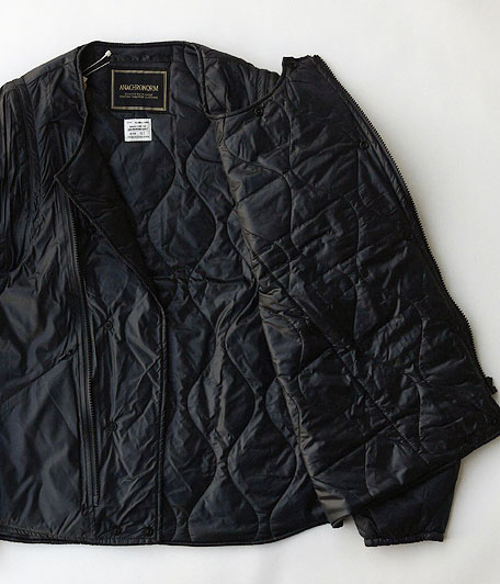 ANACHRONORM Quilted Ripstop Nylon Riders Jacket