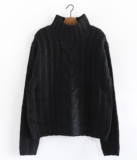 ANACHRONORM Rib Highneck Sweater