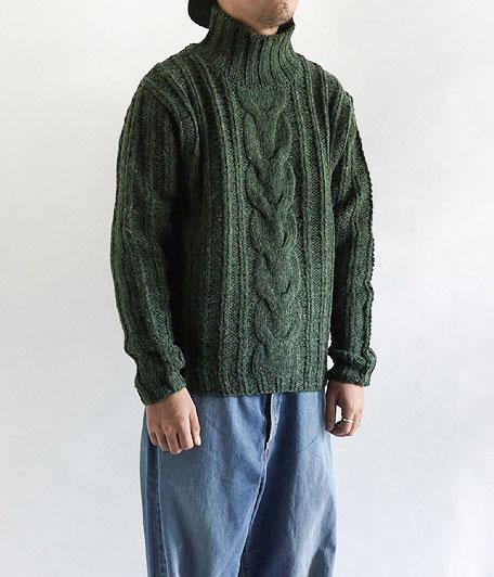 ANACHRONORM Rib Highneck Sweater
