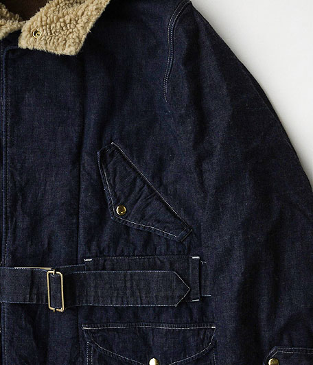 ANACHRONORM Denim Hooded Coat