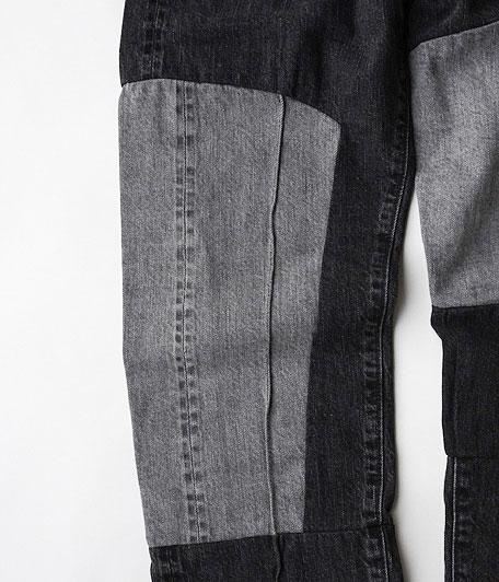 ANACHRONORM Remake Black Slim Jean