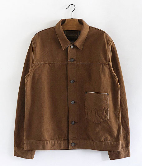 ANACHRONORM Cotton Herringbone Jacket