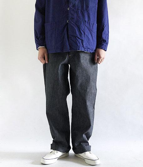 ANACHRONORM Indigo Chino Wide Trousers