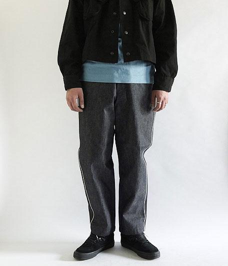 ANACHRONORM Indigo Chino Tapered Trousers