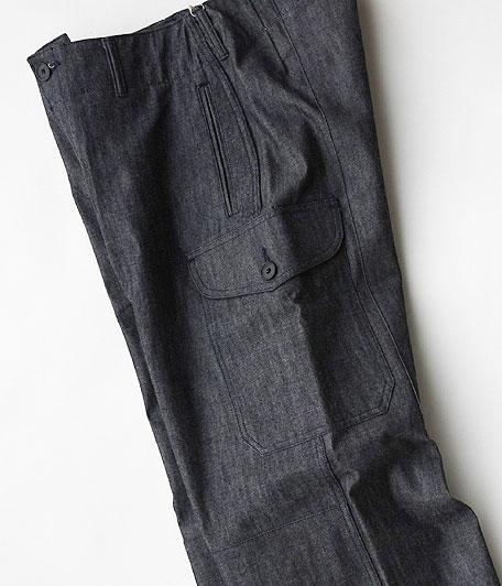 ANACHRONORM Indigo Chino Combat Pants