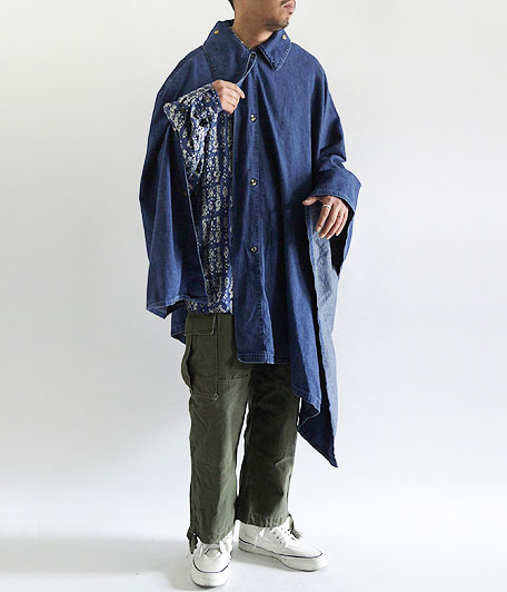 ANACHRONORM Washed Denim Smock