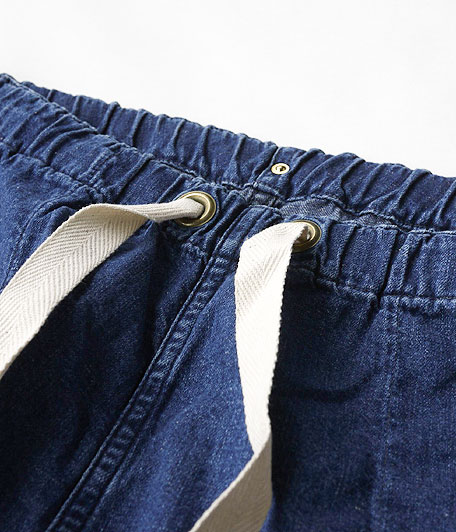 ANACHRONORM Washed Denim Easy Pants