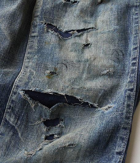 ANACHRONORM Damaged Denim Overalls