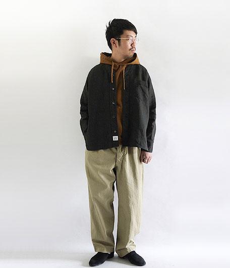 ANACHRONORM Linen Shirt-Cardigan