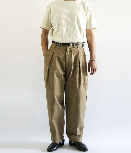 ANACHRONORM Chino Wide Trousers