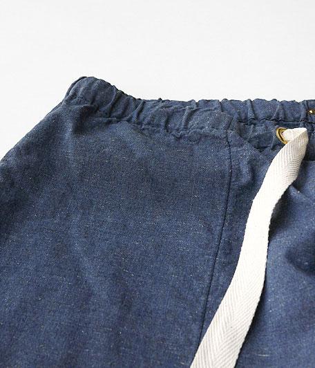 ANACHRONORM Chambray Easy Pants