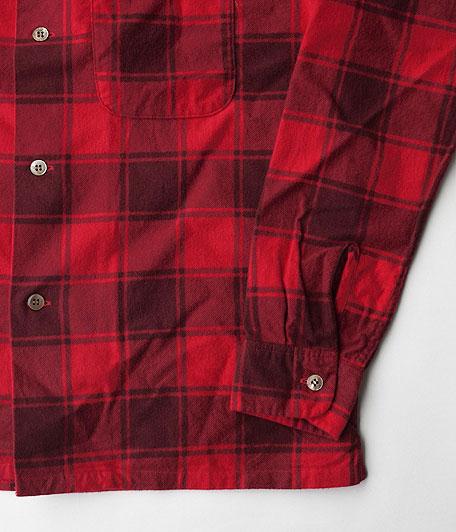 ANACHRONORM Printed Plaid Flannel Shirt