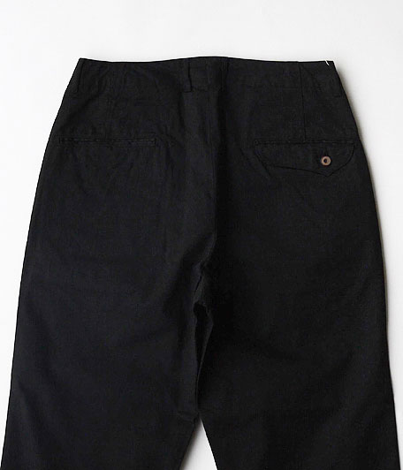 ANACHRONORM Chino Twill Tapered Trousers