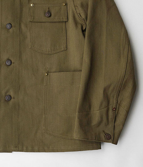 ANACHRONORM Twill Rail Road Jacket
