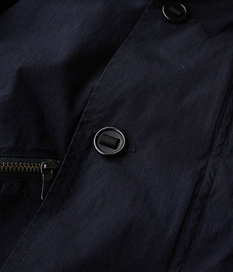 ANACHRONORM Indigo Typewriter Flight Jacket
