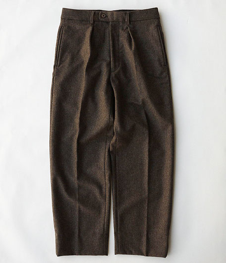 ANACHRONORM Wool Flannel Trousers