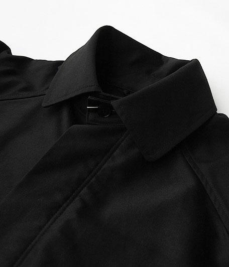 ANACHRONORM Giza Moleskin Balmacaan Coat