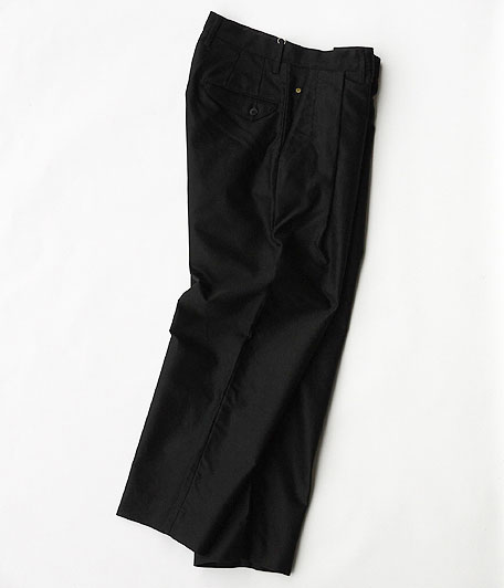ANACHRONORM Giza Moleskin Tuck Trousers