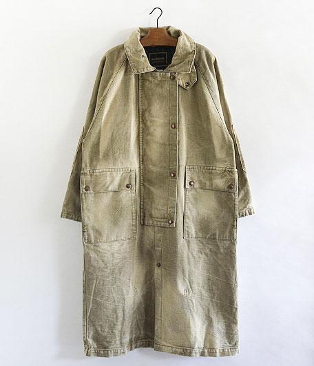 ANACHRONORM Damaged Twill Cowboy Coat