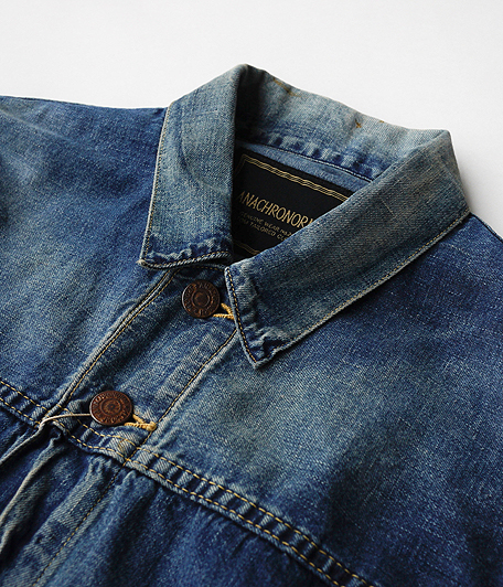 ANACHRONORM 8oz Denim Trucker Jacket