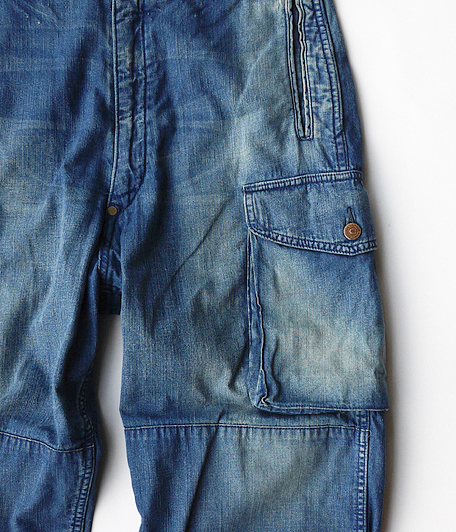 ANACHRONORM 8oz Denim Combat Pants