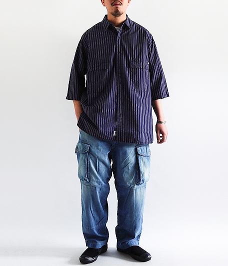 ANACHRONORM Ring Snap 1/2 Sleeve Shirt