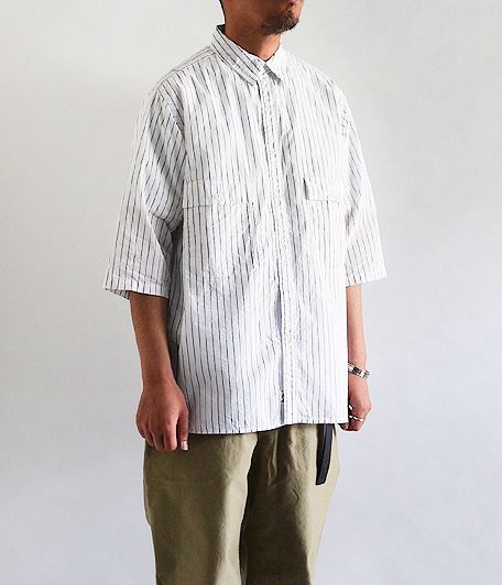 ANACHRONORM Ring Snap 1/2 Sleeve Shirt
