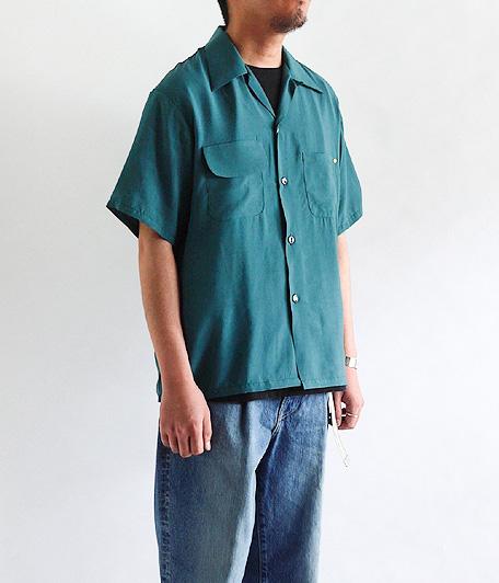 ANACHRONORM Rayon Open Collar Shirt