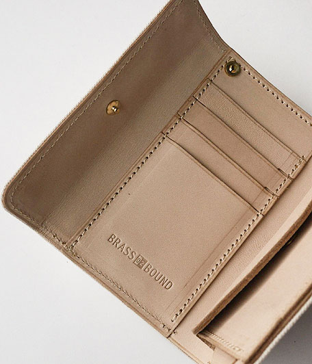 ANACHRONORM Middle Wallet by BRASSBOUND