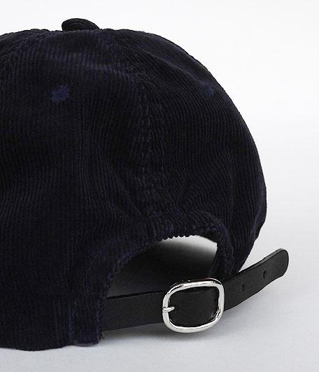 ANACHRONORM Corduroy Leather Buckle Cap