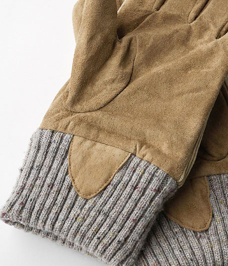 ANACHRONORM Corduroy Knit Rib Glove By ISLAND KNIT WORKS