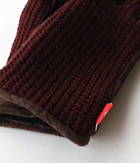 ANACHRONORM Suede Knit Mix Glove
