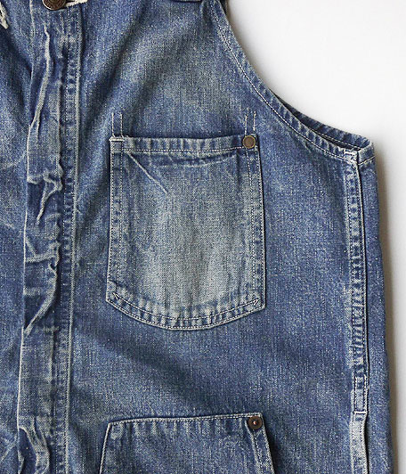 ANACHRONORM Washed Denim Overall