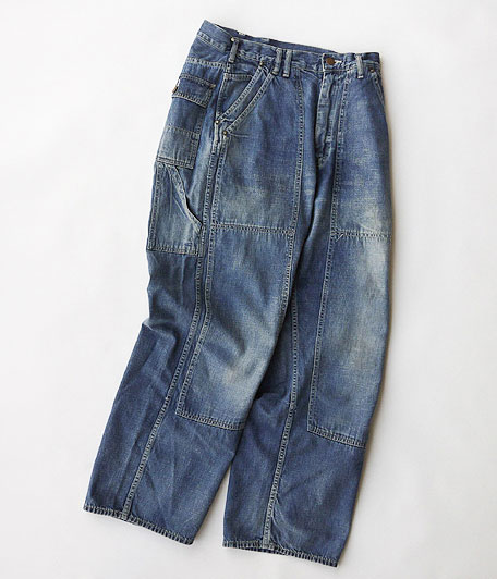 ANACHRONORM Washed Denim Painter Pants