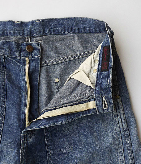 ANACHRONORM Washed Denim Painter Pants