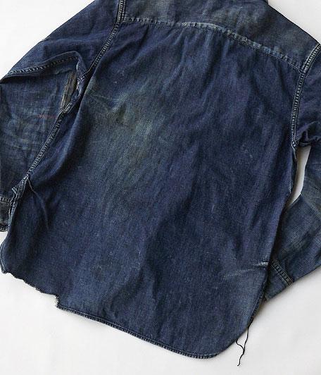 ANACHRONORM Damaged Denim Work Shirt